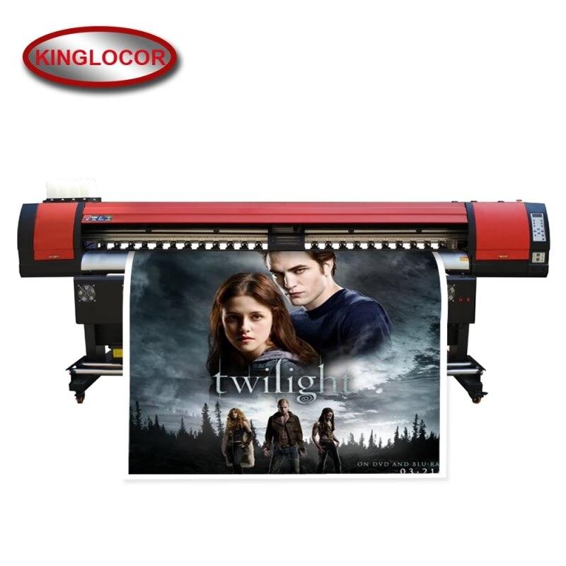 Neue XP600/Dx5 Eco Lösungsmittel Tinte Druck Maschine Große Digitale Adhesive Film Vinly Flex Drucker Maker