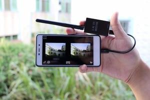 Image 4 - מוכן לשימוש 5.8G FPV מקלט UVC וידאו Downlink OTG VR אנדרואיד טלפון + 5.8G 200/600mw משדר TS5823 + CMOS 1200TVL מצלמה fpv
