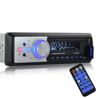 1 Din Car Radio Stereo Music 1020BT Bluetooth MP3 Player Audio Autoradio FM AUX IN Radios In Dash With 5V Phone USB Charger Port