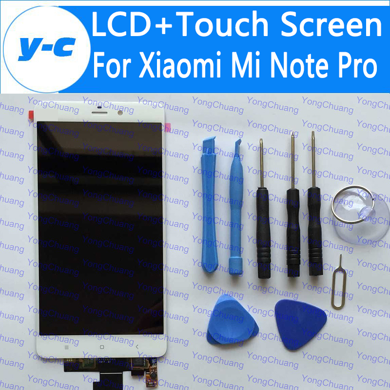 For Xiaomi Mi Note Pro LCD+Touch Screen New Arrived 2K Display Glass Panel Digitizer Screen Replacement For 2560X1440 5.7inch