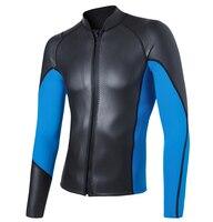 Мужские купальники с защитой против ультрафиолета костюм для подводного плавания плавающий для серфинга дайвинга топы колготки 2 мм
