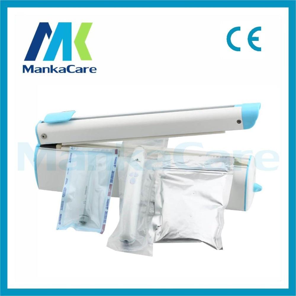 30CM Sealer Package Hand Impulse Heat Sealing Machine/Plastic PP/PE Poly Bag Closer Sealer/Dental/Clinic/Hospital