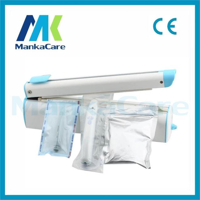Manka Care-30CM Paquete Mano Impulso de Calor Sellado De La Máquina/De Plástico PP/PE Bolsa de Plástico Sellador Closer/Dental/clínica/Hospital