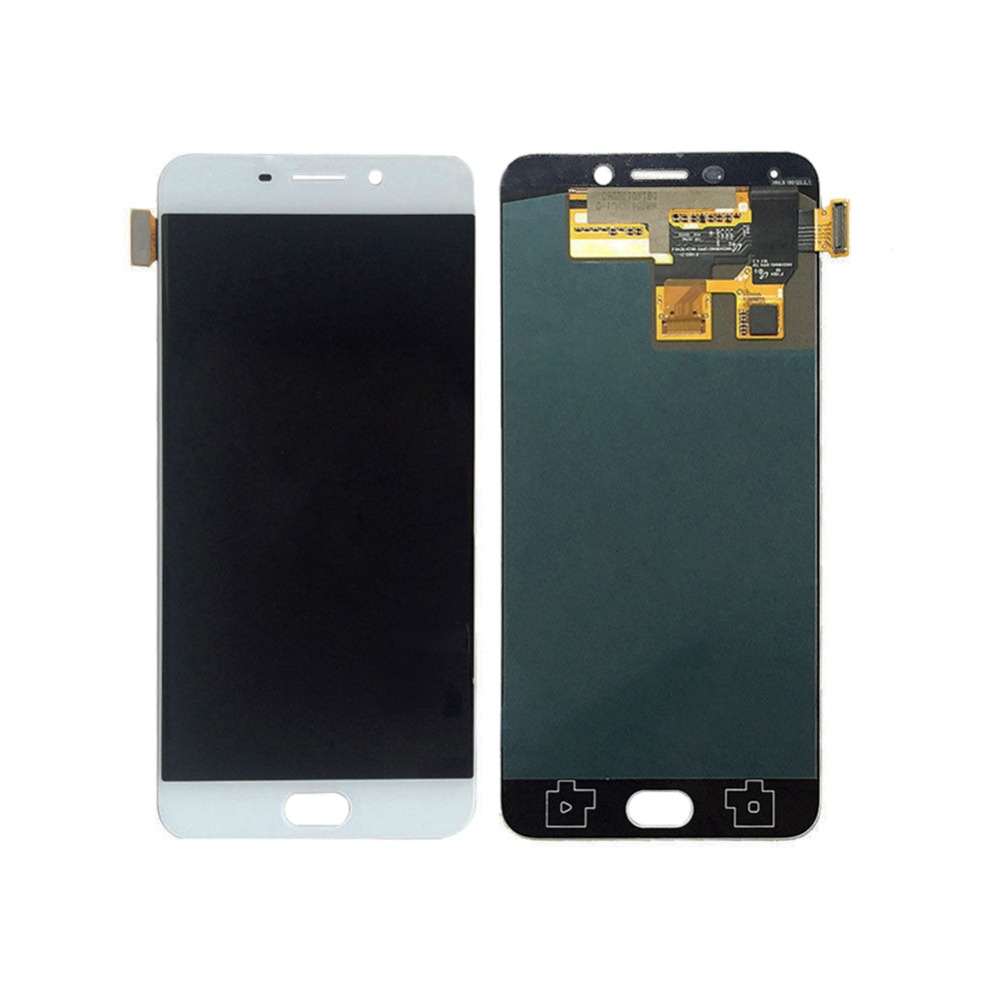 White LCD DIsplay + Touch Screen Digitizer Assembly replacement parts For OPPO R9 R9 plus without frame grade a replacement lcd glass screen ecran touch display digitizer assembly for oppo r9 plus 6 0 inch white with free tool kit