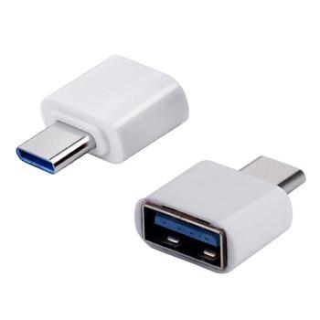 Typ C Otg Usb 3 1 do Usb2 0 złącze adaptera wysokiej prędkości certyfikowane akcesoria do telefonów komórkowych do Samsung Huawei akcesoria do telefonów tanie i dobre opinie ISHOWTIENDA Brak wsparcia CN (pochodzenie) 4 porty A Podróży Usb Cable Mobile voip Charger USB cable USB charger cable