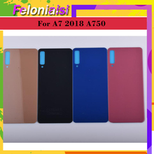 10Pcs/lot For Samsung Galaxy A7 2018 A750 A750F SM-A750F Housing Battery Door Rear Back Cover Case A7 2018 Chassis Shell allen bradley 1756 a7 b 1756a7 controllogix 7 slots chassis new and original 100