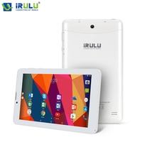 IRULU X6 7 zoll 3G/2G Phablet Entriegelt Quad Core Android 7.0 Nougat Smartphone 1 GB/16 GB 1024x600 IPS Wifi FM Sim-karte unterstützung
