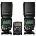 2 шт. YN600EX-RT II Беспроводная вспышка Speedlite с YN-E3-RT II радиопередатчиком для камеры Canon 6d 7d 70d 60d 50d 40d 700d 650d