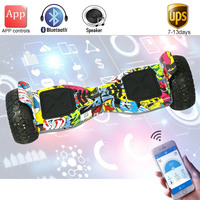 New Super Power Hoverboard 8 5 Inch App Self Balance Electric Scooter Bluetooth Overboard Oxboard 2