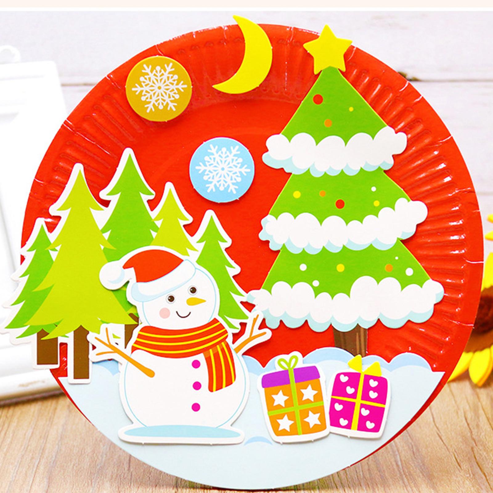 Quick paper Plate Santa Claus For Christmas - DIYSPINS   1600x1600