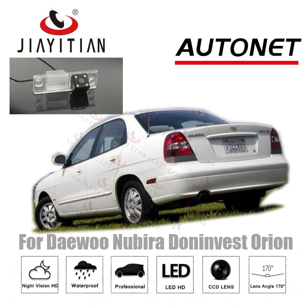 JiaYiTian Rear View Camera For Daewoo Nubira Doninvest Orion Sedan CCD Night Vision Reverse Backup Camera License Plate Camera