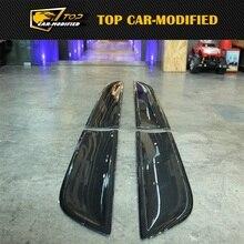 Топ автомобиль-модифицированный Карбон волокно автомобиля наружный модинг наклейка для Porsche Macan автомобильные аксессуары
