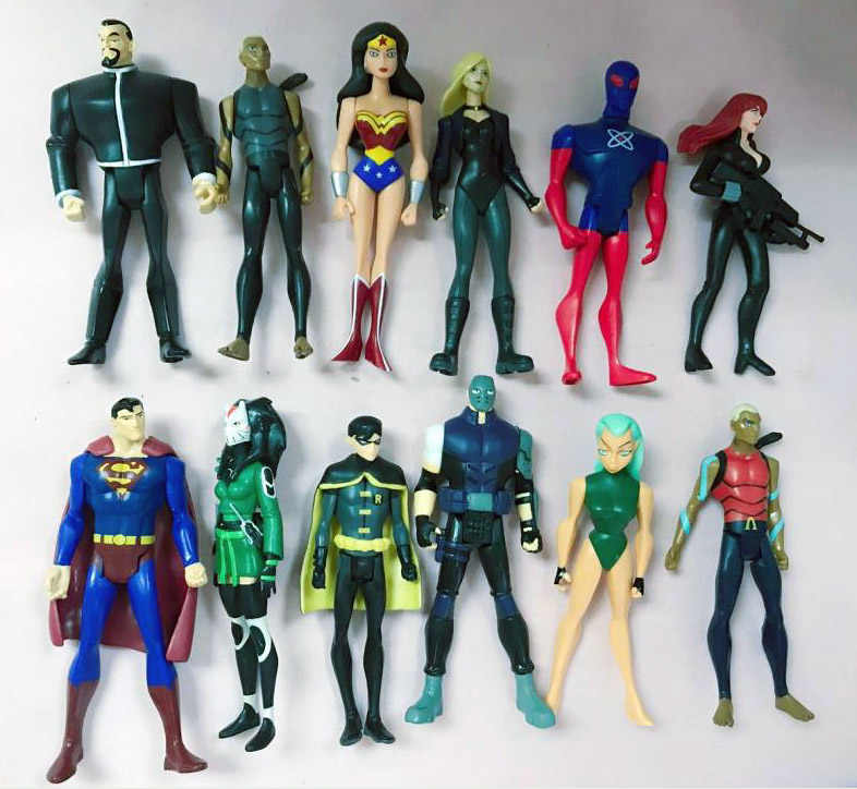 2720bcb154df Detail Feedback Questions about Lot of 12 DC Young Justice League Aqualad  Robin Atom Superman Aquagirl Savage Canary Loose Action Figure on  Aliexpress.com ...