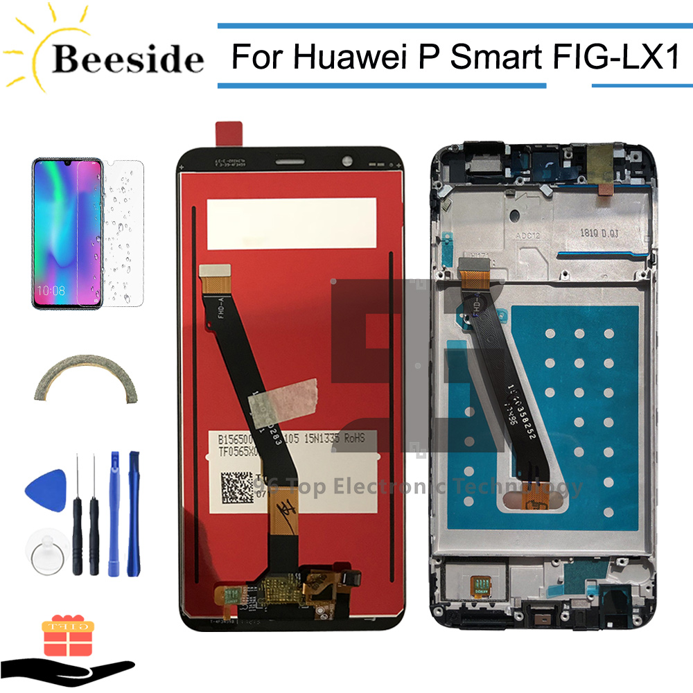 AA+ Quality LCD + Frame For Huawei P Smart FIG-LX1 FIG-LA1 FIG-L21 FIG-L22 LCD Display Touch Screen Digitizer Assembly ReplaceAA+ Quality LCD + Frame For Huawei P Smart FIG-LX1 FIG-LA1 FIG-L21 FIG-L22 LCD Display Touch Screen Digitizer Assembly Replace