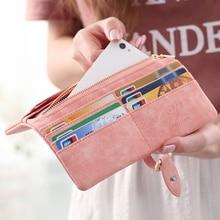 Women Credit Card Holder Phone Coin Purse Clutch Organizer Wallet