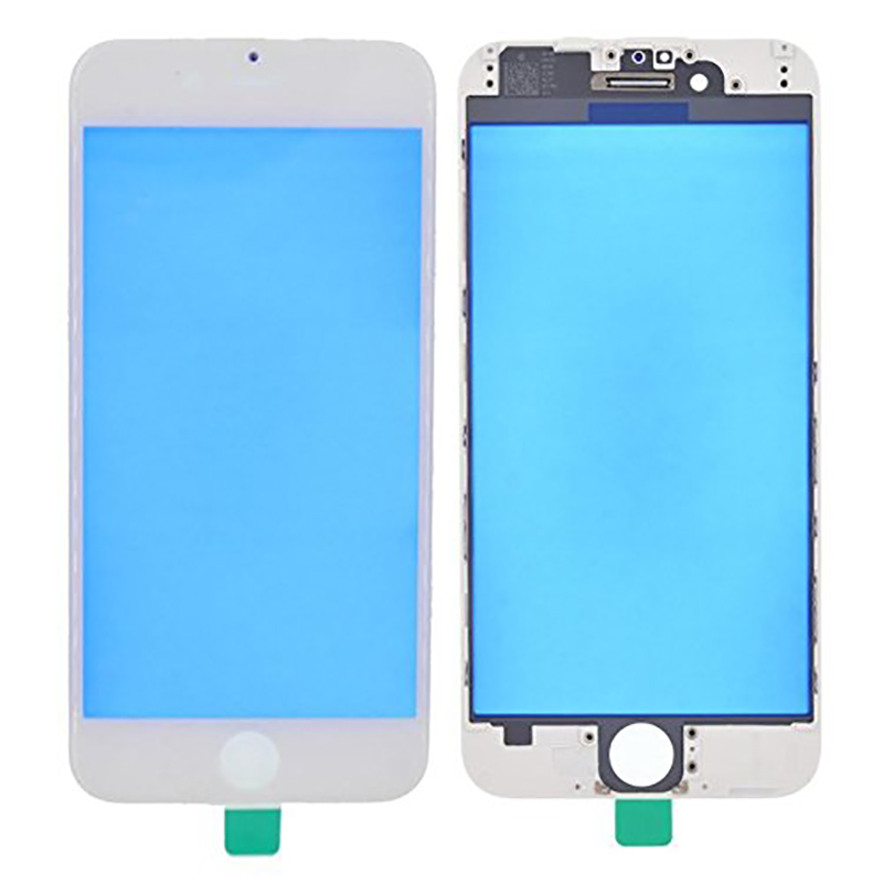 for iPhone 6 6 Plus 6s 6sp 7 7Plus Replacement Front Outer Screen Glass Lens Cover LCD with frame image