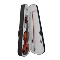 1 8 Violin Hand Carved Full Size With Lightweight Hard Case Jujube Wood Bow Pinus Bungeana