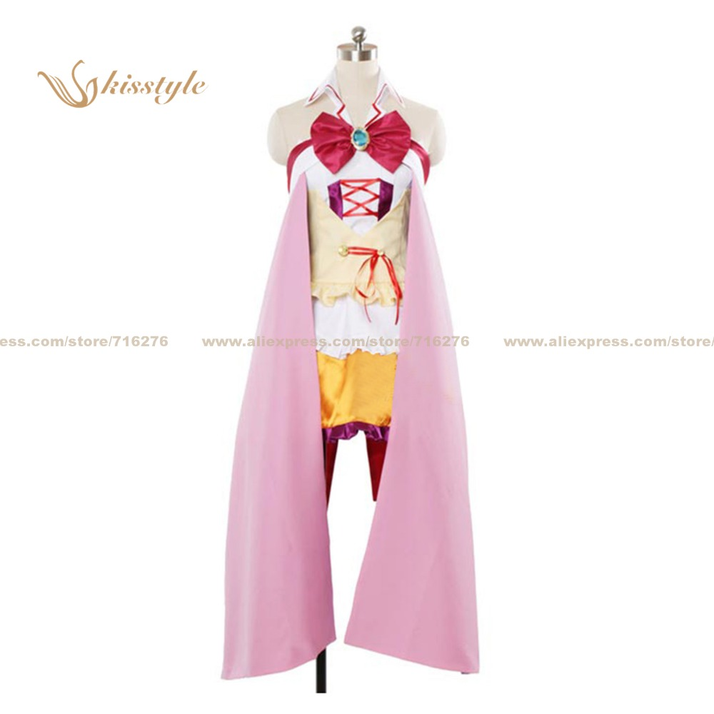 Kisstyle Fashion No Game No Life Stephanie Dola Uniform COS Clothing Cosplay Costume,Customized Accepted