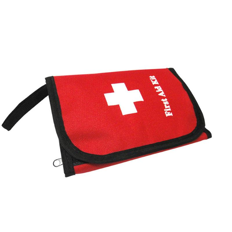 Factory direct Red First Aid Kit Emergency Survival Bag Medical When Camping In Outdoor