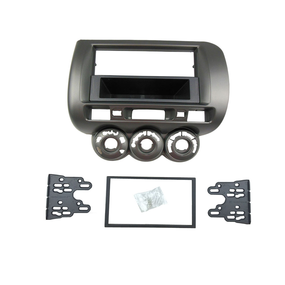 Image 3 - Radio Fascia for Honda Jazz City One Double Din DVD Stereo CD Panel Mount Installation Trim Kit Frame Bezel-in Fascias from Automobiles & Motorcycles