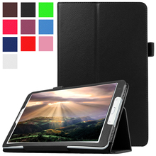 Case for Samsung Galaxy Tab E 9.6 T560 T561 SM-T560 SM-T561 Flip Stand Cover PU Leather Funda for Samsung Galaxy Tab E 9.6 Case цена
