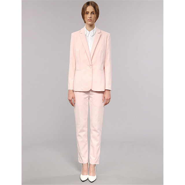 Blazer rosado para mujer