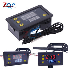 W3230 DC 12V AC 110V 220V 20A LED Digital Temperature Controller Therm