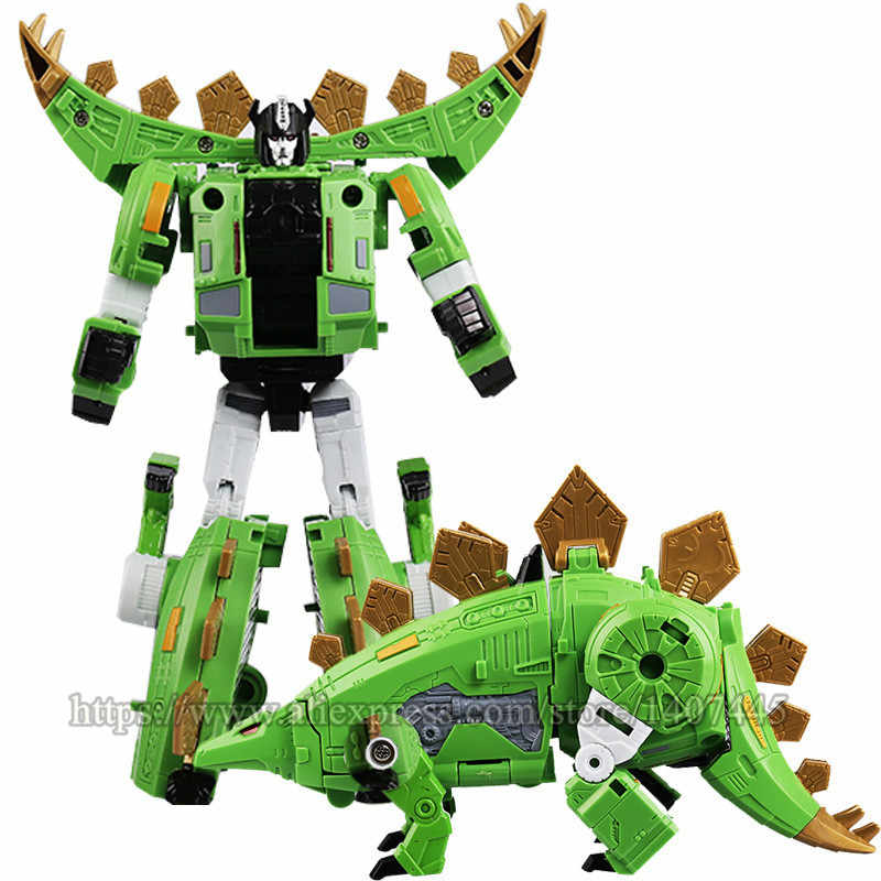 HEIMANBA Novo 5 em 1 Anime Figuras de Ação Devastator Filme Transformação Brinquedos legal G1 KO Dinossauro Modelo Clássico crianças Mais Velhas brinquedos