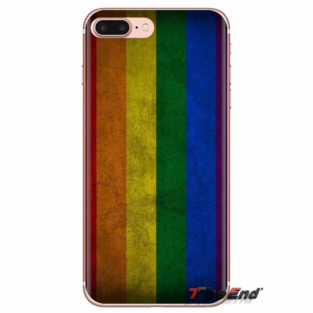 Đồng Tính Đồng Tính Nữ LGBT Rainbow Niềm Tự Hào Nghệ Thuật Cho Ipod Cảm Ứng iPhone 4 4s 5 5s SE 5C 6 6S 7 8 X XR XS Plus Max Trong Suốt TPU Nhà Ở