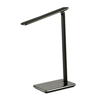 Nuevo LED lámpara de escritorio lámpara de mesa lámpara de la lámpara de ojo-4 luz temperatura de Color luz de libro con inalámbrico cargador de escritorio USB de carga
