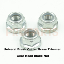 3PCS Brush Cutter Gear Head Blade Nut M12x1.5 Left Thread