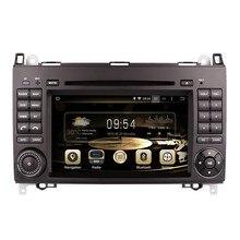 Android 5.11024*600 Quad Core Coches Reproductor de DVD GPS Para Mercedes Benz W169 W245 Vito Viano Sprinter B200 W639 W906 Radio Estéreo BT