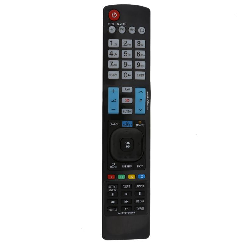 Universal High Quality TV Remote Control Replacement Television Remote Control Unit For 3D SMART APPS TV for LG AKB73756565 TV