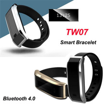 2016 TW07 Умный Браслет Браслет Bluetooth 4.0 Водонепроницаемый Спорта, Фитнес-Браслет Шагомер Smartband Вызова Напоминание Сообщение P20