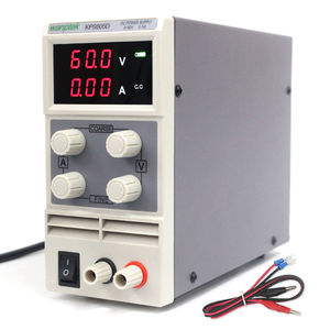 Image 4 - 실험실 전원 공급 장치 60 v 5a 단상 가변 smps 디지털 미니 전압 레귤레이터 0.1 v 0.01a kps605d dc 전원 공급 장치
