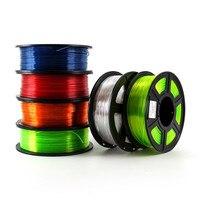 3D Printer Filament Petg 1.75 Mm 1Kg/2.2lbs Plastic Filament Verbruiksartikelen Petg Materiaal Voor 3D Printer-in 3D Druk materiaal van Computer & Kantoor op