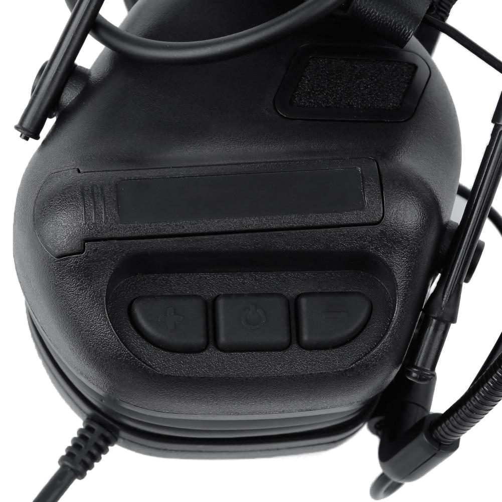 Ruído Fone de ouvido de Redução para a Aviação Walkie Talkie