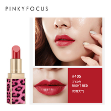 Pudaier Brand Hot Sale Bean Paste Color Lip Stain Waterproof Red Lip Tint Long Lasting Lip Makeup Batom Leopard Matte Lipstick цена