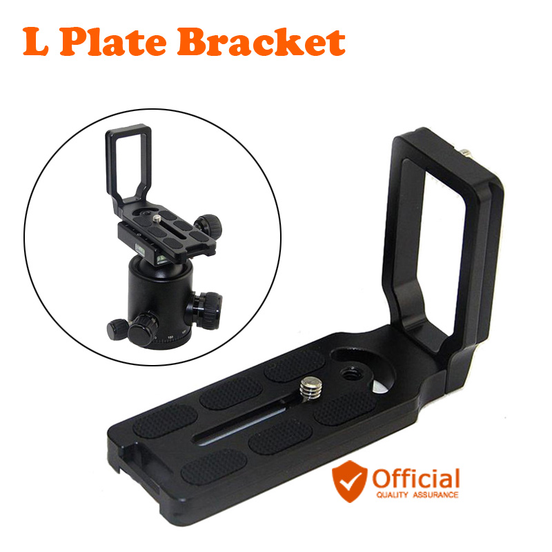 Quick Release L Plate Bracket For Canon EOS 1200D 760D 750D 700D 650D 600D 70D 60D 5Ds 6D 7D 5D Mark II/III Camera accessories mini flash speedlite mk 320c for canon eos 5d mark ii iii 6d 7d ii 60d 70d 600d 700d t3i t2 hot shoe dslr camera