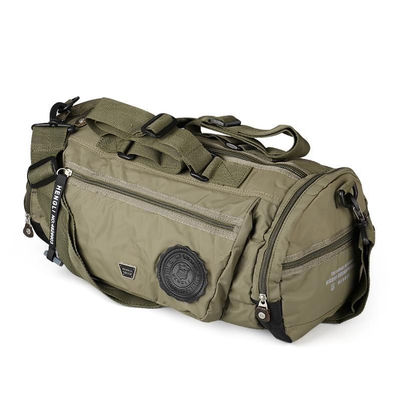 Le sac de voyage Ruil pour hommes est composé d'un sac en tissu Oxford qui protège les sacs de voyage portables étanches pour femmes