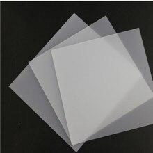 10 шт. 1 мм/2 мм Толщина Прозрачный акриловый лист персекс пластик прозрачный плексиглас доска