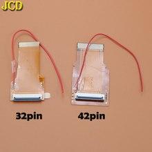 JCD Ersatz 32Pin 40 Pin Band Kabel Für Game Boy advance GBA AGS 101 Backlit Adapter Bildschirm Mod mit kabel