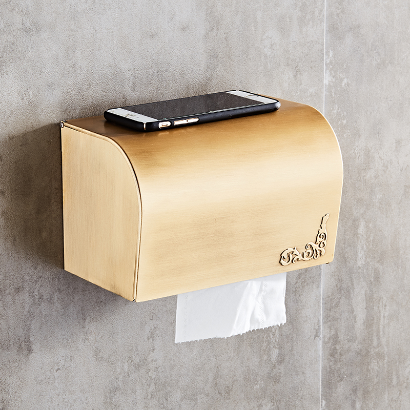 Antique Toilet Paper Roll Holder Bathroom Waterproof ...