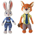 1PCS 22CM/30CM Zootopia Stuffed Plush Doll Rabbit JUDY Hopps Fox NICK WILDE Children Baby Kids Toys Hot Movie
