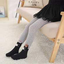 e4b3c4620eac Cute Animals Print Tights For Girls Comfortable Knit Baby Girl Clothes  Stockings Soft 2-12Y