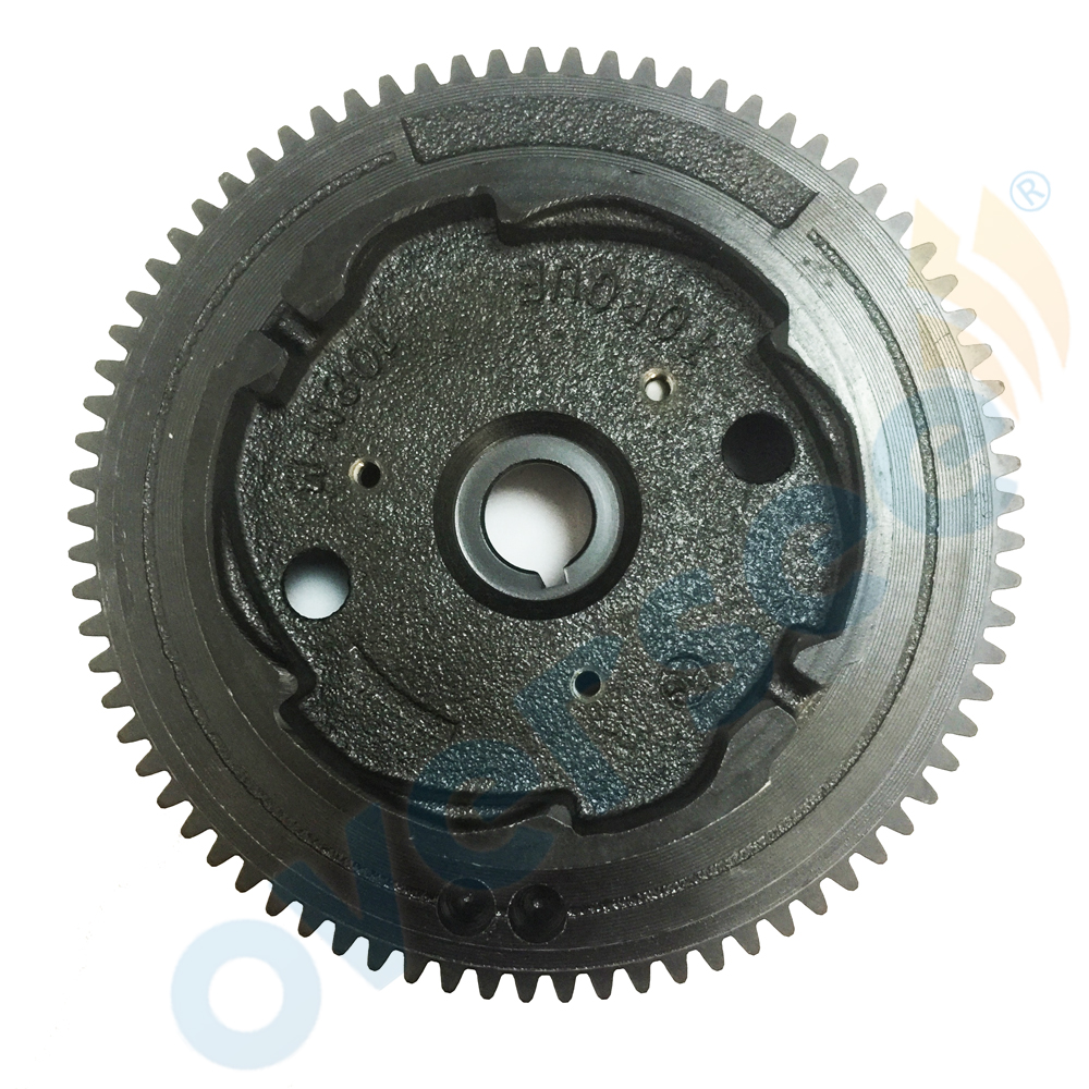 For Fitting Yamaha 4-stroke Outboard T8HLPA Flywheel ROTOR ASSY p.n. 68T-85550-11 3