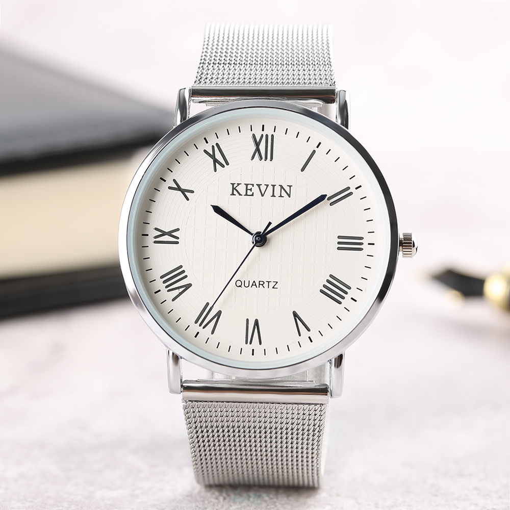 KEVIN Women Watch Modern Ladies Quartz Casual Dress Leather Band Wristwatch Female Simple Sport Roman Number relogio feminino цена