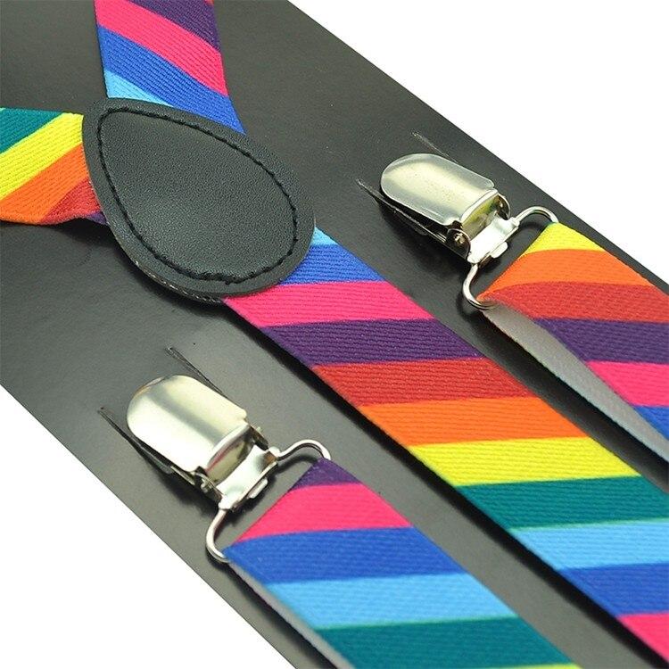 Ανδρικές γυναικείες τιράντες σε 8 διαφορετικά χρώματα msow