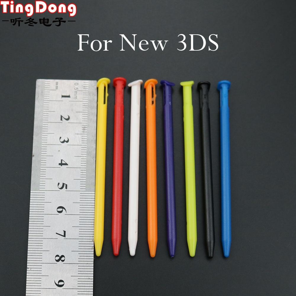 TingDong 12 шт. разноцветные стилус для сенсорного экрана, Пластиковые Стилус для N 3DS, Стилус для Nintendo New 3DS