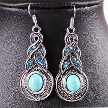 Newly Arrival Fashionable And Classic Woman stone Dangle Earrings EAR-0104